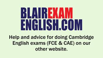 Blair Exam English link